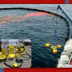 floating oil skimmer