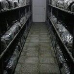تجهیز سالن قارچ ، قفسه بندی سالن قارچ