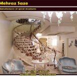 فروش پله گرد فلزی  در مشهد