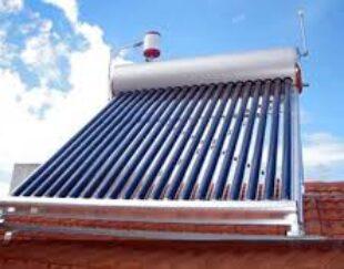 انواع آبگرمکن های خورشیدی خانگی . صنعتی