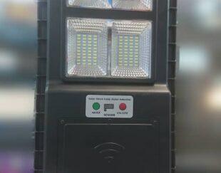 چراغ ال ای دی خورشیدی در توانهای مختلف مجهز به سنسور نوری و حرکتی 
