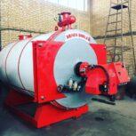 ساخت و تولید دیگ روغن داغ(پارس بویلر)