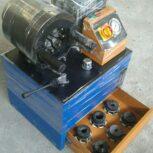 تولید و طراحی دستگاه پرس لوله گلخانه