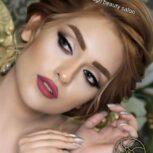 بهترین رنگ و لایت مو در اصفهان  | رنگ و لایت | ژیلا صالحی | modisbeauty