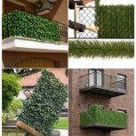 فنس چمن دیوار سبز