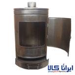 فروش عمده و خرده بخاری هیزمی گرد مدل ۲۲۵۵   بخاری ذغالی