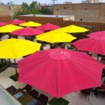 تولید کننده چتر های رستوران و کافه