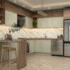 طراحی کابینت آشپزخانه+نقشه اجرایی رایگان