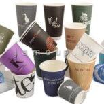 ظروف و لیوان کاغذی تبلیغاتی